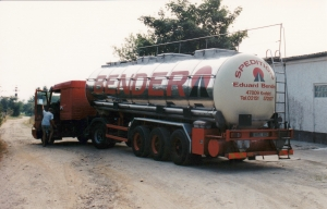 Finma - paste delivery - road tanker