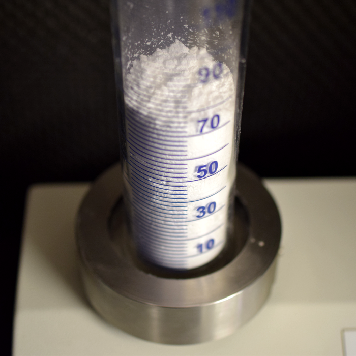 Finma - measurement method - powder characteristics - density